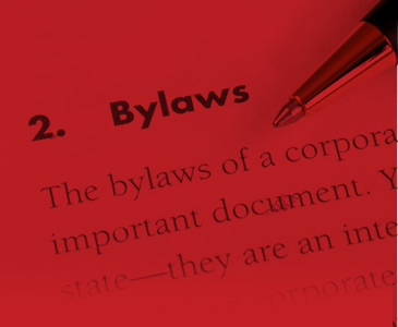 Minutes, Constitution and Bylaws